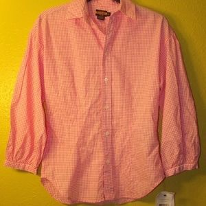 NEW! Ralph Lauren Rugby Gingham Shirt
